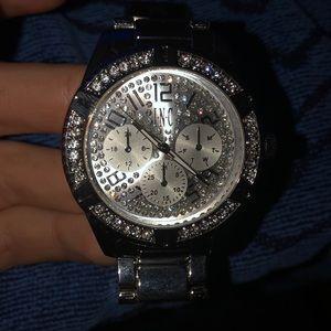 I.N.C Mens link bracelet watch 44mm